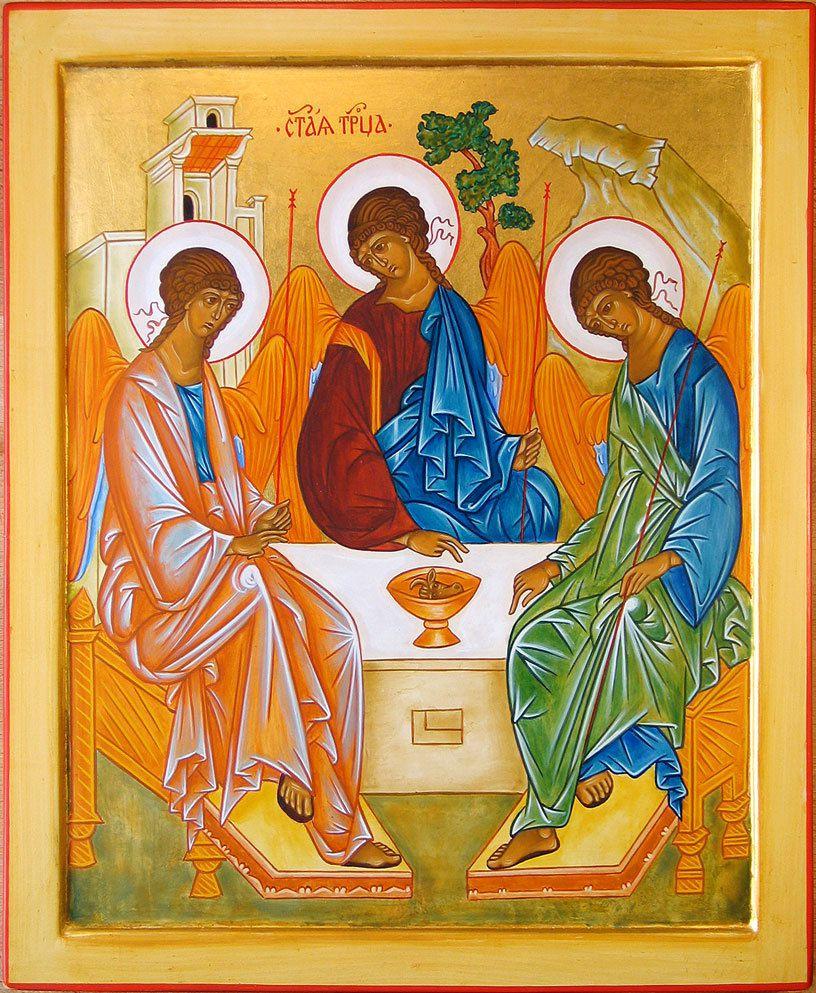 L'icône de la Trinité