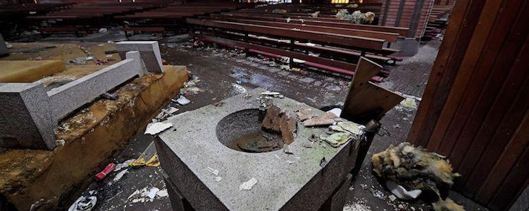 Ulster : 445 attaques de lieux de culte en trois ans…