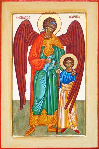 Archange Raphaël et Tobie
