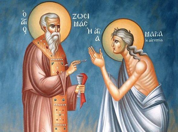 Sainte Marie l'Egyptienne 1er avril