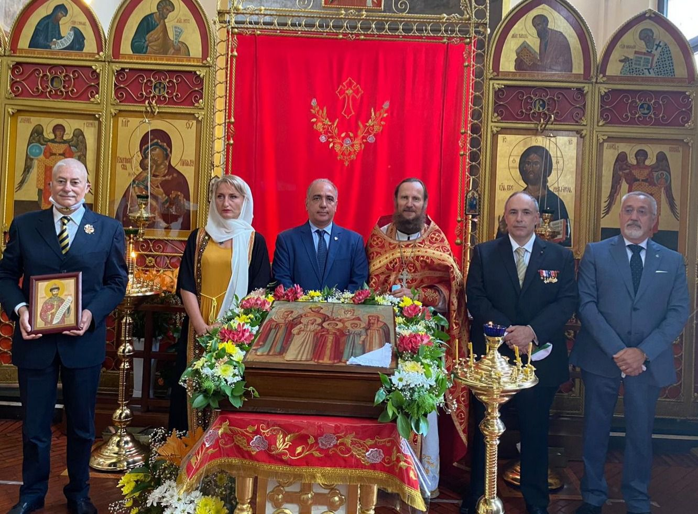 Commemoration des Saints Martyrs Romanov