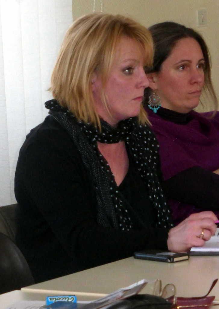 Stéphanie Doire et Mathilde Roux