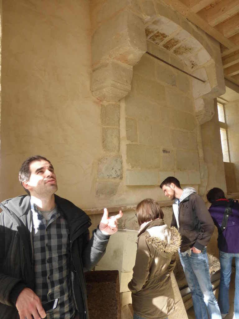 Nicolas Thépaut de l'ALE37 donne quelques explications concernant le plafond