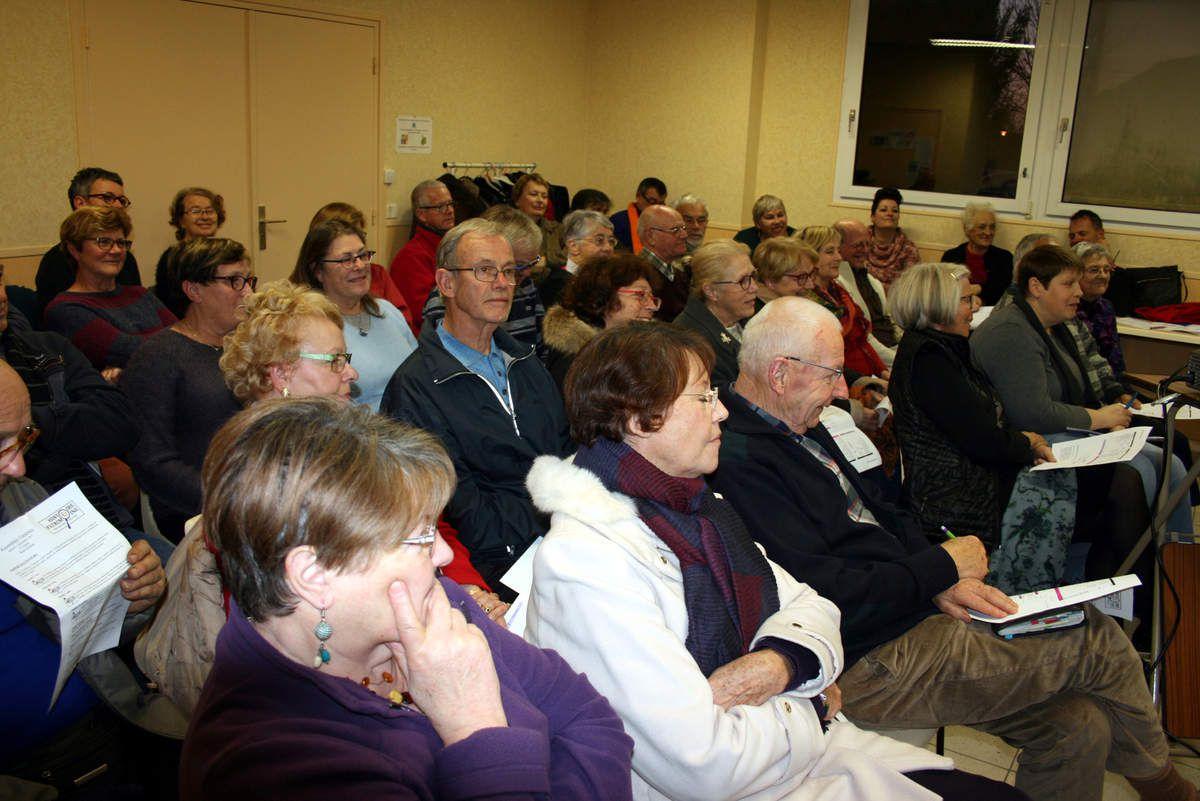 Une quarantaine de personnes était présente pour participer à cette assemblée générale.