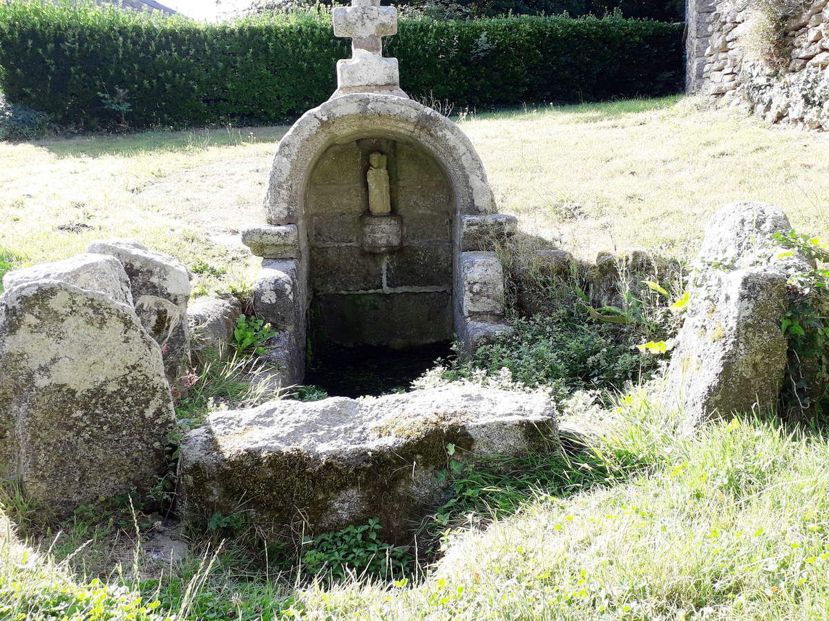 La fontaine de Saint Philibert