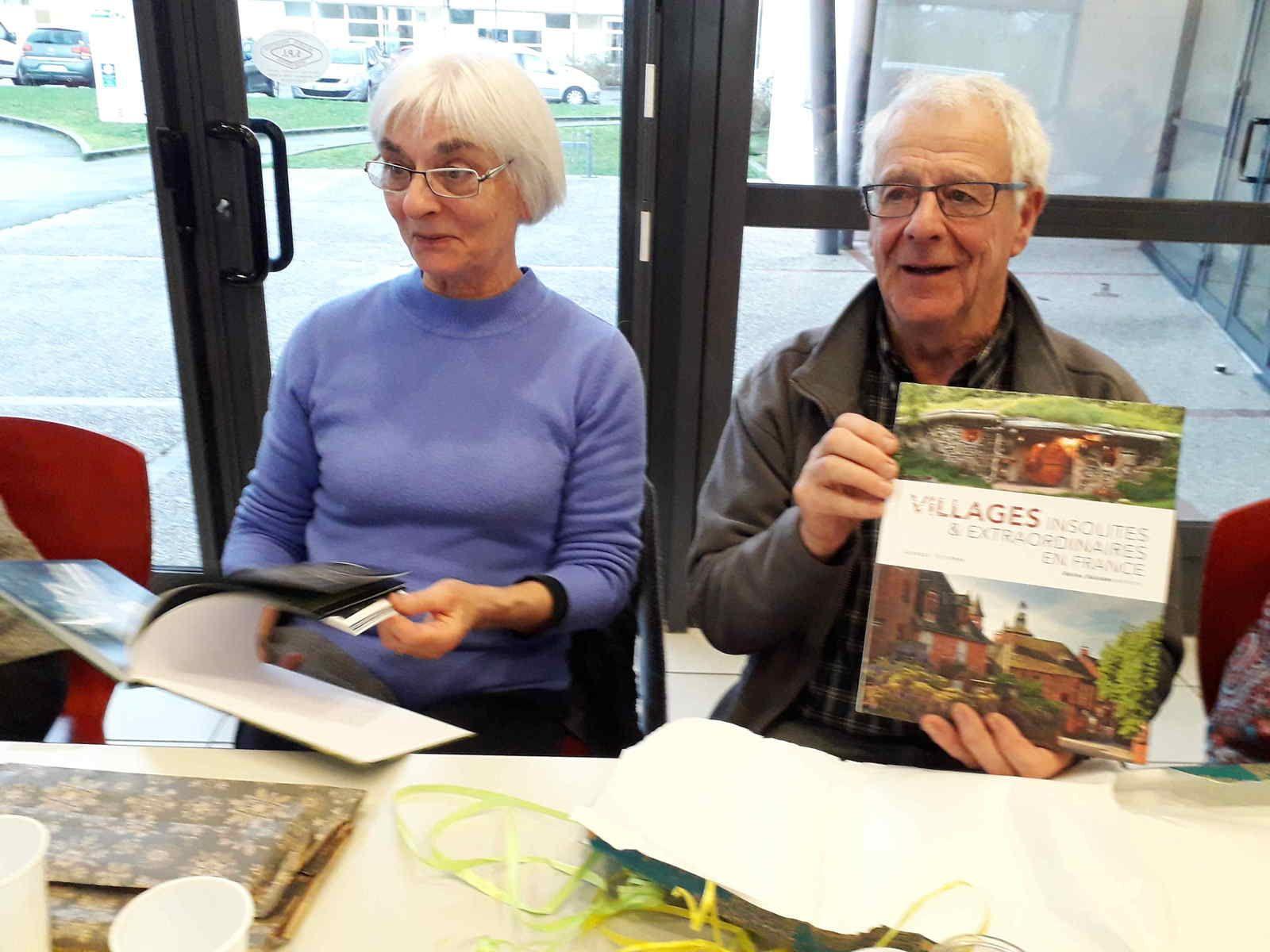 Ginette et Alain Desgranges présentent leur beau livre