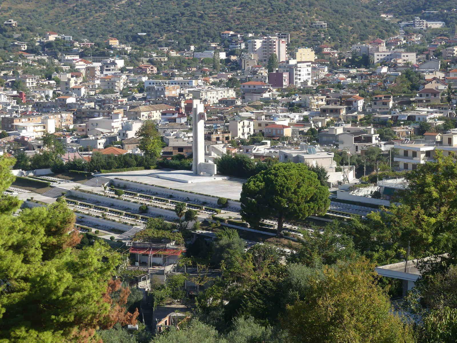 Un aperçu de la ville de Vlorë