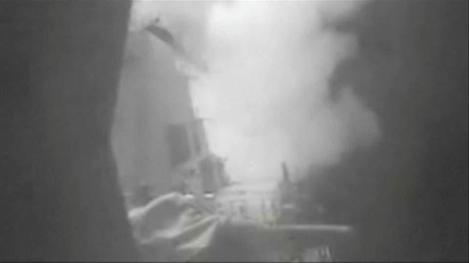 Yemen: Buque de guerra estadounidense lanza misiles contra territorios bajo control hutí