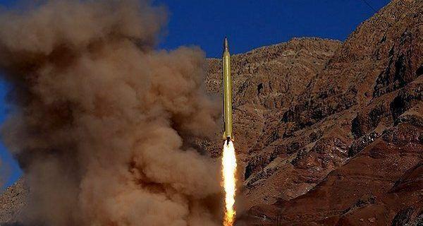 Misil balístico iraní lanzado el 1/2/2017