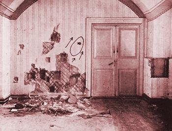 Casa Ipatiev: Habitación donde fue asesinada la familia imperial rusa el 17/7/1918