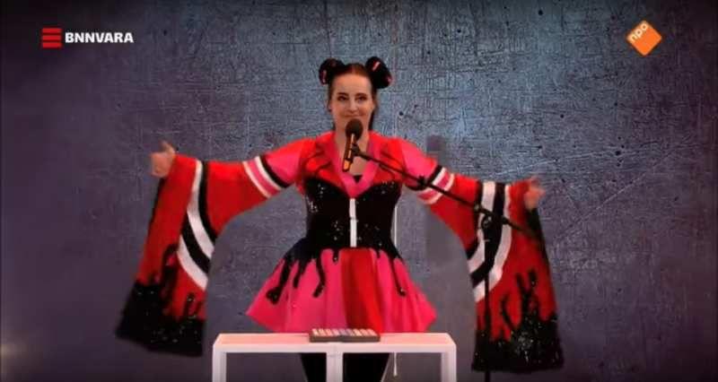 Israel escandalizada por una parodia holandesa de su canción en eurovisión