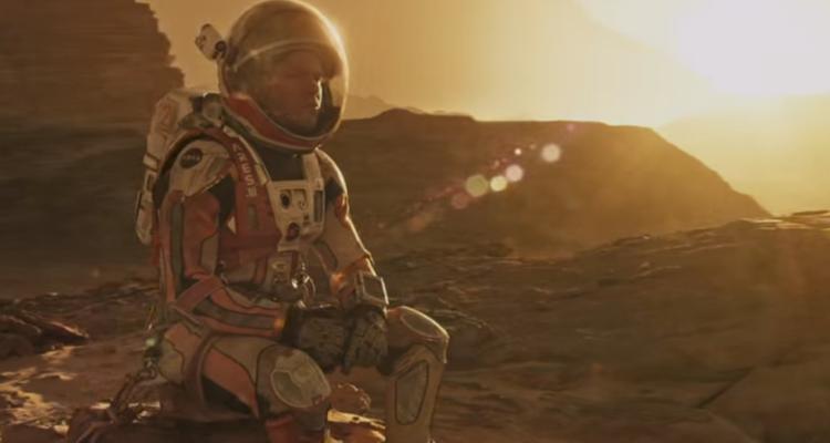 Película Marte (The Martian)