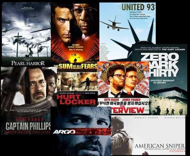 Centenares de películas realizadas bajo la influencia y la supervisión del Pentágono