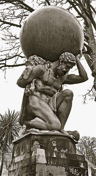 Atlas soportando la esfera celeste
