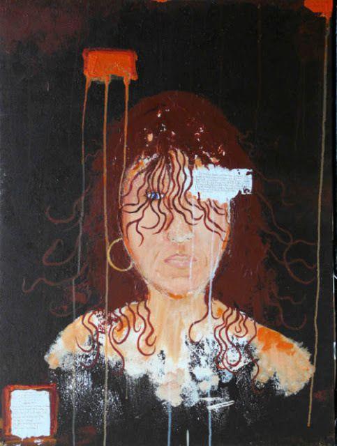 Esta es una pintura de Kim Noble, un sobreviviente del control mental basado en el trauma. Esta pintura se llama The Naming y se relaciona con el nombramiento de una persona diferente.