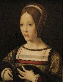 Leonor de Austria, 1498 - 1558, Infanta de Castilla de los Habsburgo, esposa de Manuel I de Portugal y Francisco I de Francia