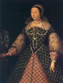 Catalina de Médicis, 1519 - 1589, Reina consorte de Francia como esposa del Rey Enrique II de Francia