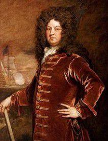 George Churchill, 1654 - 1710, Hermano menor del Duque de Marlborough. Apoyó a Guillermo III