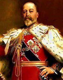 Eduardo VII, 1841 - 1910, Rey del Reino Unido, de la Casa de Saxe-Coburgo y Gotha