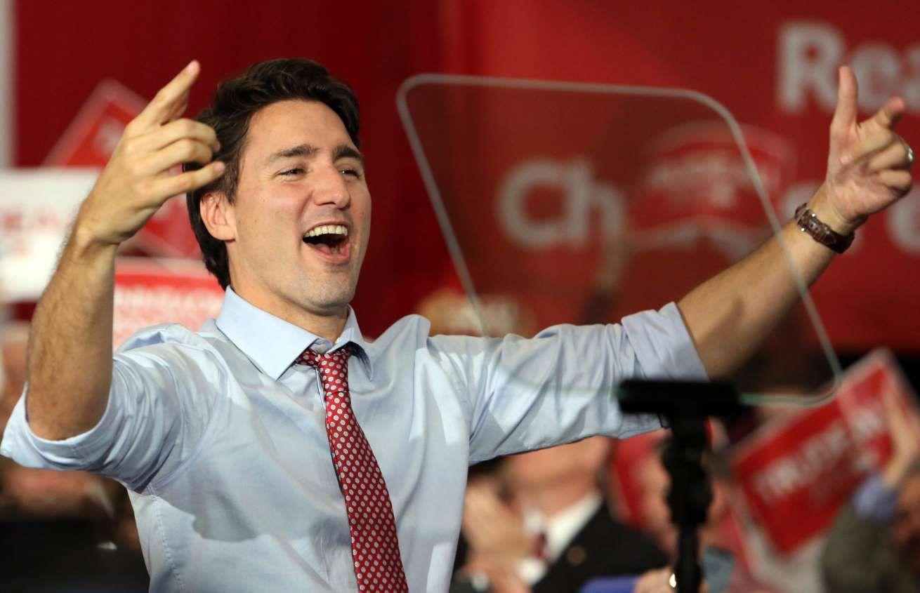 Justin Trudeau, 1971 - ...., Primer Ministro canadiense desde 2015, hijo extramatrimonial de Margareth Trudeau (esposa del ex primer ministro canadiense Pierre Trudeau, 1968 hasta 1984) & Fidel Castro, presidente de Cuba