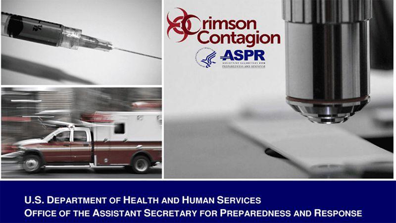 """Estados Unidos Simuló una pandemia de gripe con el código """"Crimson Contagion""""  que comenzó en enero  y terminó en agosto de 2019"""