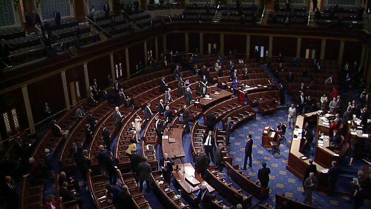 El Congreso de los Estados Unidos aprobó un proyecto de ley de ayuda antes de que comenzara la supuesta pandemia del Coronavirus