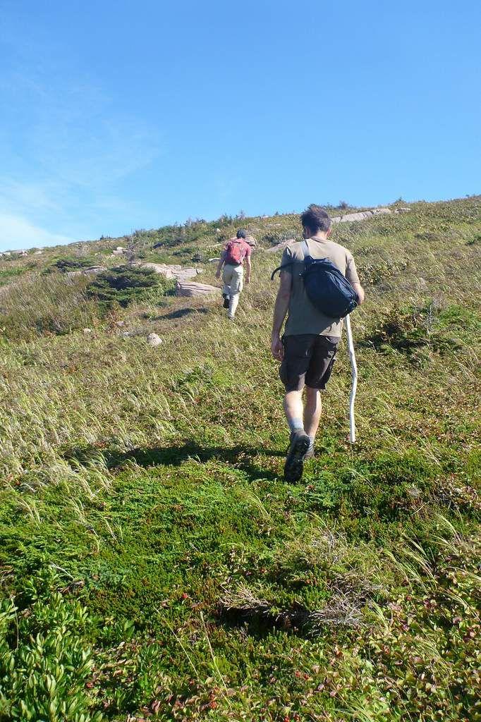 Canada - Celui qui randonnait sur l'île du Cap-Breton