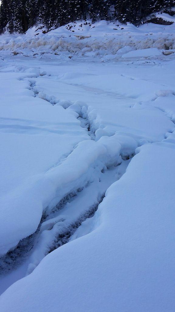 Canada : Celui qui marchait sur la glace