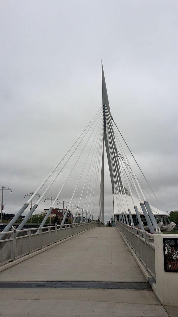 Canada - Celui qui visitait rapidement Winnipeg