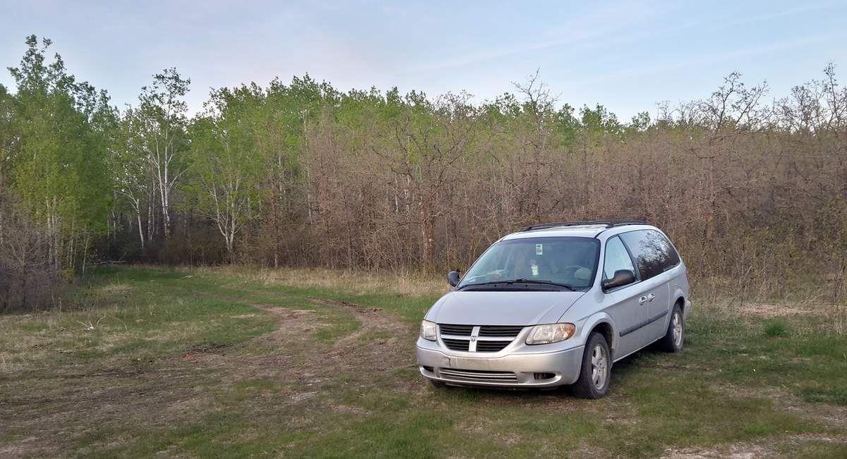 Canada - Celui qui roulait au Nord du Manitoba