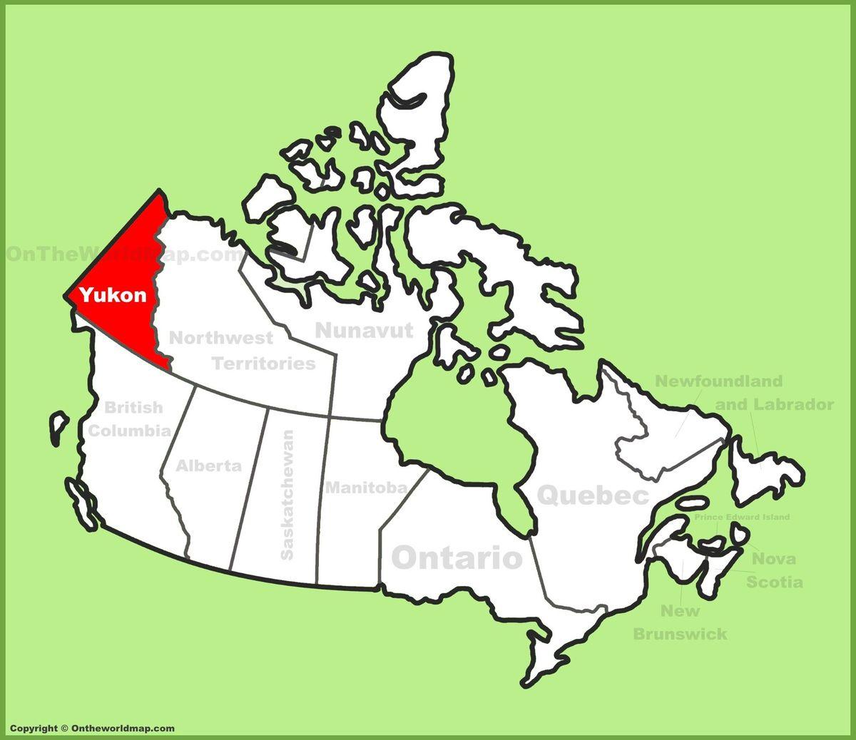 Canada - Celui qui arrivait au Yukon