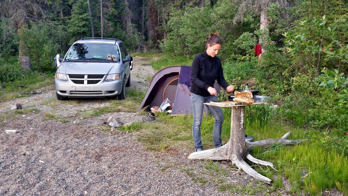 Canada - Celui qui randonnait à Caribou Mountain