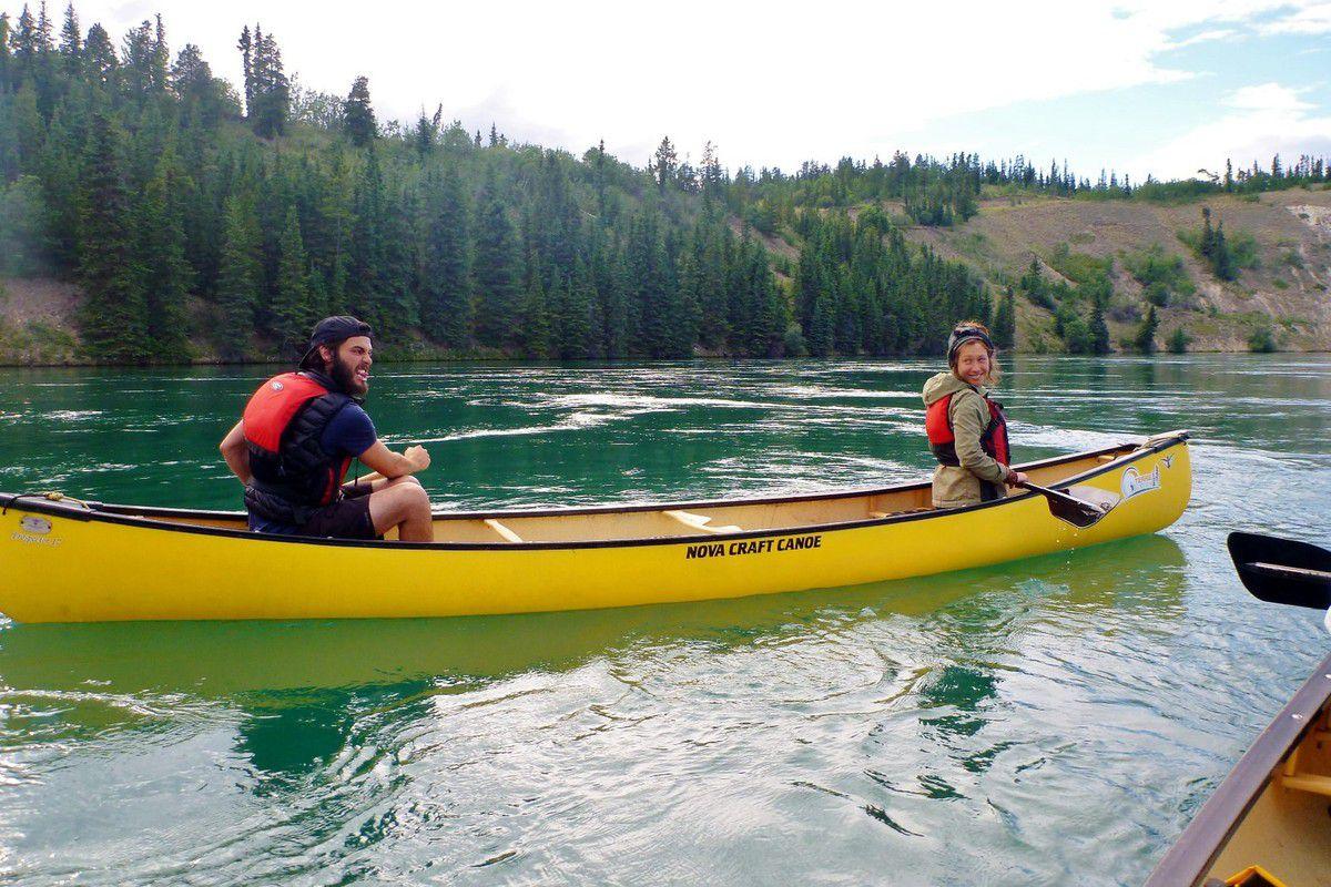 Canada - Celui qui pratiquait le canoë