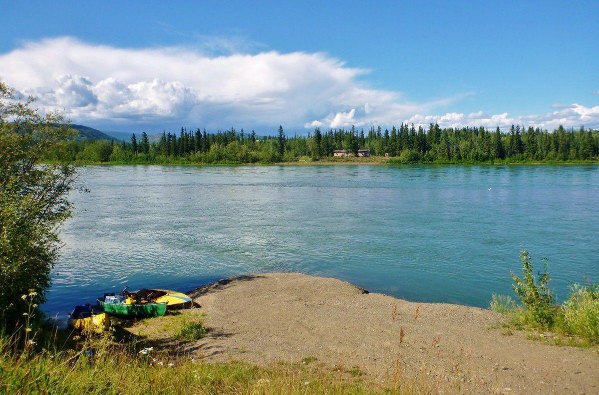 Canada - Celui qui pagayait sur la Yukon River (partie 2)