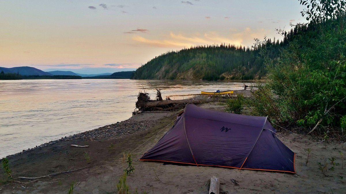 Canada - Celui qui pagayait sur la Yukon River (partie 3)