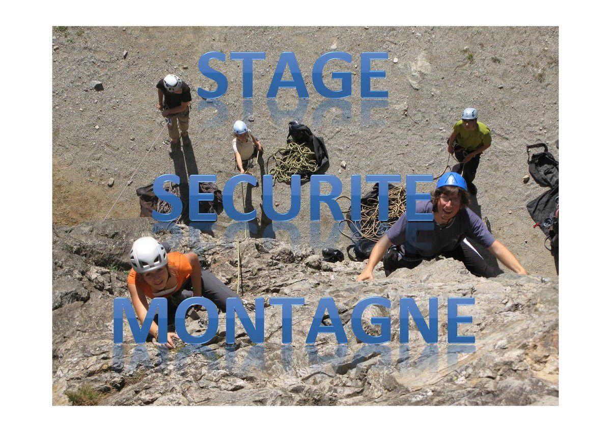 Stage Sécu montagne 2A - Com1