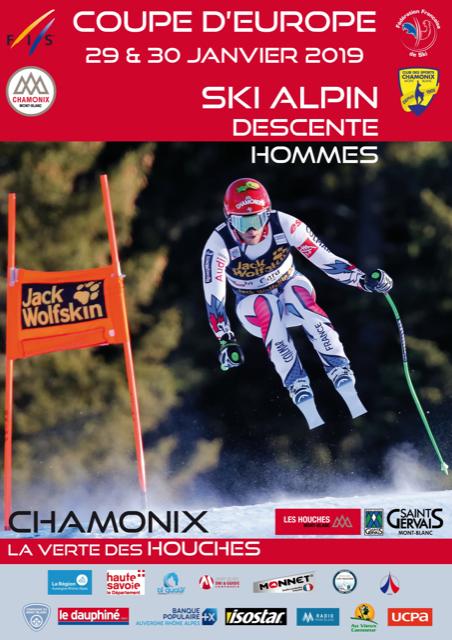Option SKI ALPIN : Coupe d'Europe 2COM1 2COM2 et 1COM3
