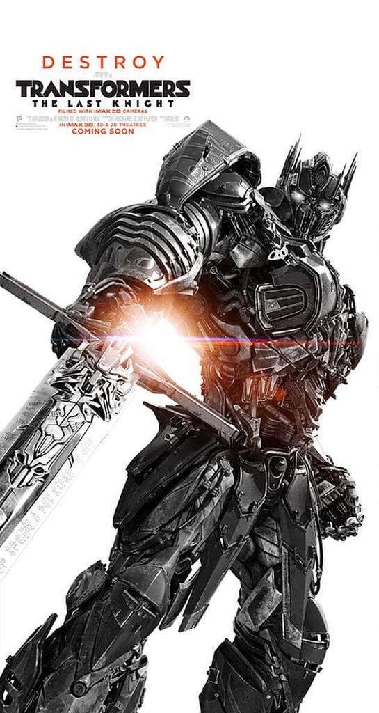 TRANSFORMERS the Last Knight, la bande annonce ultime est sortie.