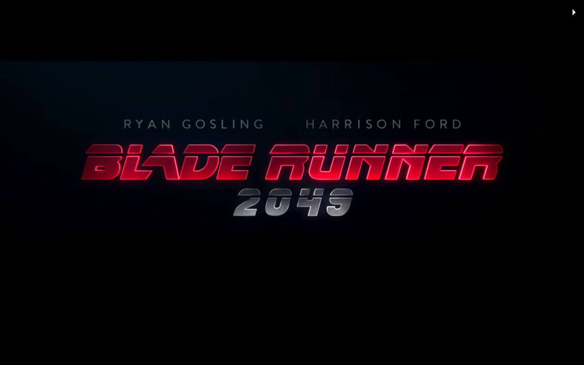 BLADE RUNNER 2049, bande annonce