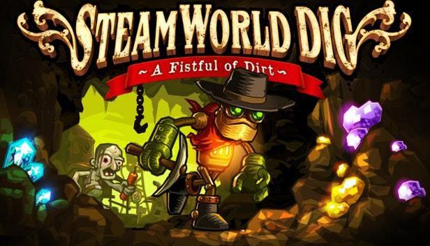 Le jeu SteamWorld Dig gratuit sur ORIGIN.