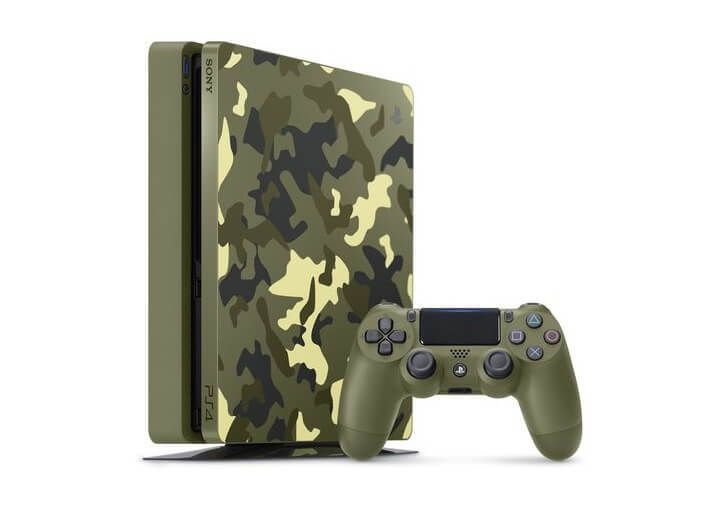 Une Playstation 4 aux couleurs de Call Of Duty WWII
