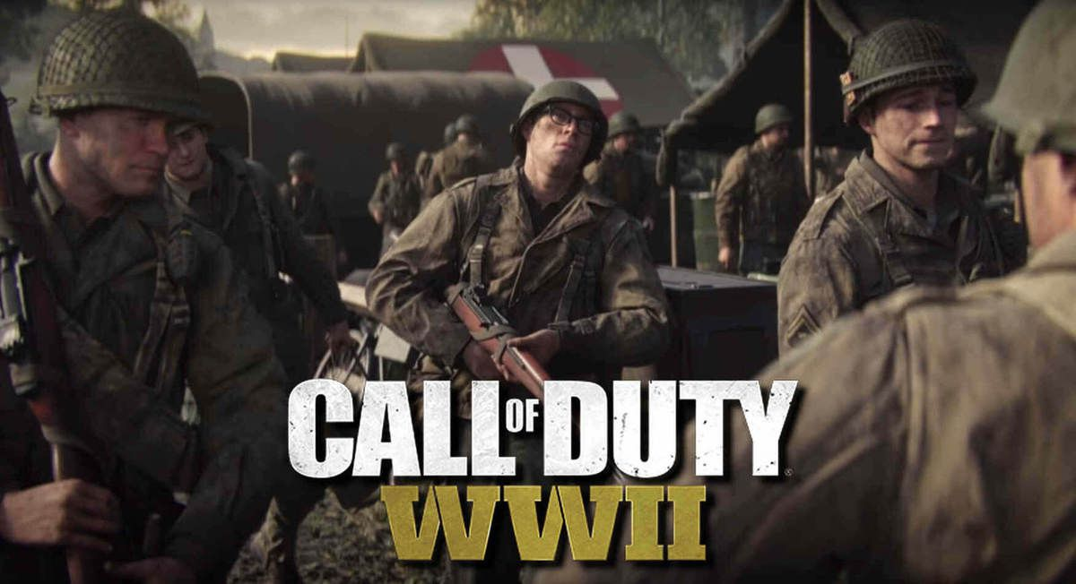 CALL OF DUTY WWII, bande annonce.