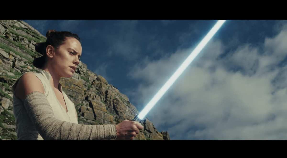 Star Wars Les derniers Jedi, bande annonce officielle.