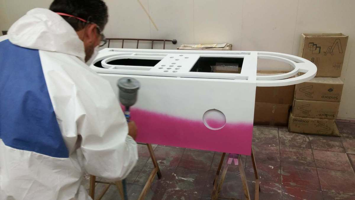 Fabrication d'un Jukebox.