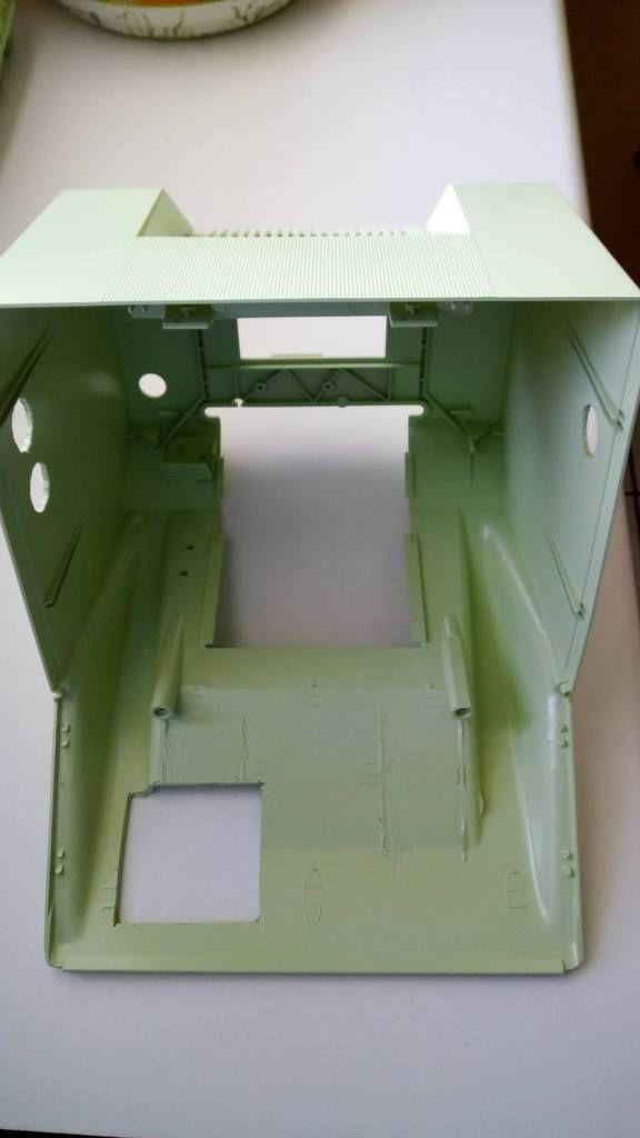 Fabrication d'un Bartop minitel.