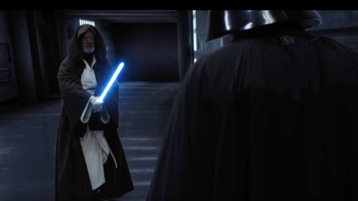Obi-Wan Versus Dark Vador 2019.