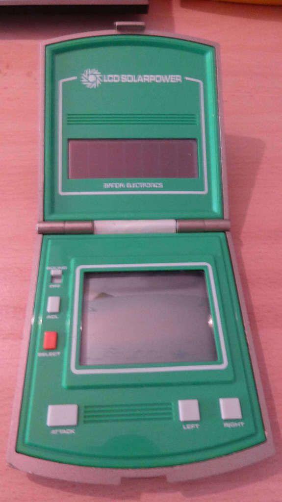 SOS - BANDAI ELECTRONICS - Jeu LCD Solaire
