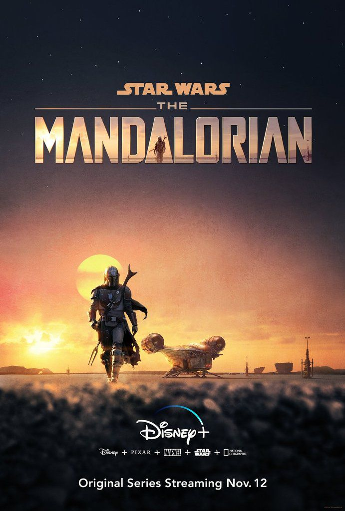 The MANDALORIAN la série STAR WARS.