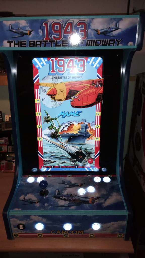 BARTOP VERTICAL - CAPCOM 1943 Battle Of Midway