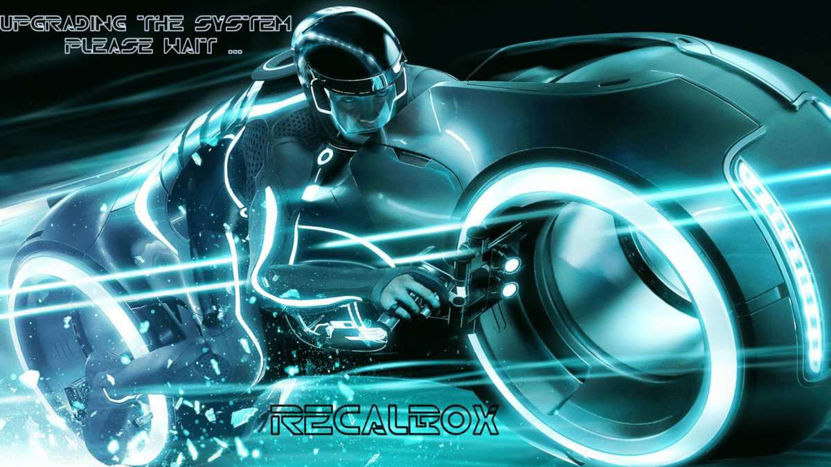 SPLASH SCREEN POUR RECALBOX.